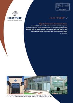 COMAR 7 DOOR BROCHURE 03.12