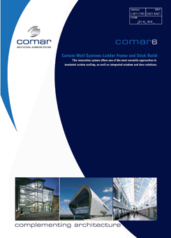 Comar 6 Curtain Walling 11.12