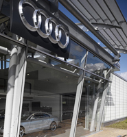 Audi MacclesfieldLocation: Macclesfield, Cheshire Client: Stoke Systems