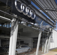 Audi Macclesfield  Location: Macclesfield, Cheshire  Client: Stoke Systems
