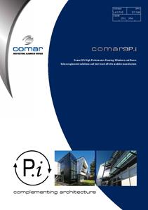 Comar 9Pi Brochure Front Cover